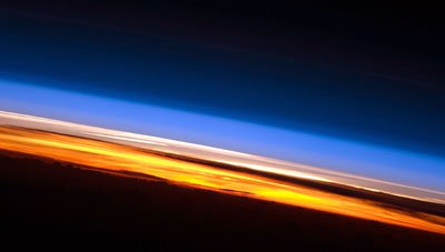 Earth's atmosphere from space, NASA