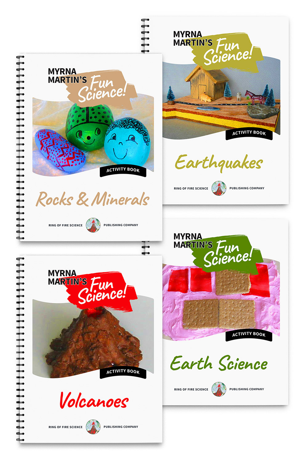 Fun Science Activity Books Package by Myrna Martin