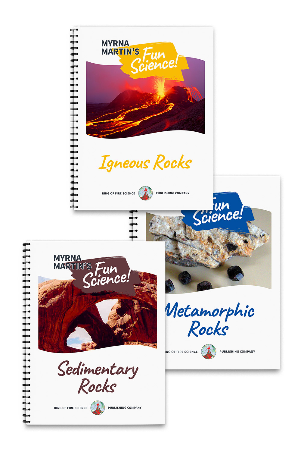 Fun Science Books Package 3 by Myrna Martin