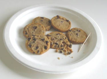 Fun science activities, Cookie Dig, Photo by Myrna Martin