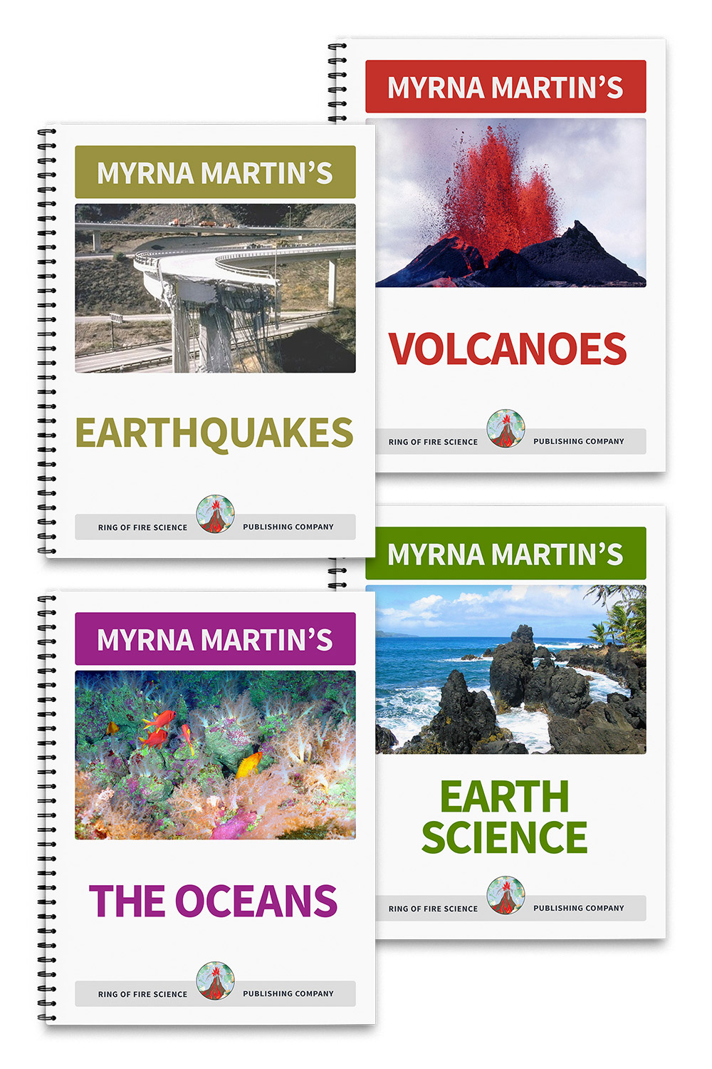 Myrna Martin's Earth Science Textbooks