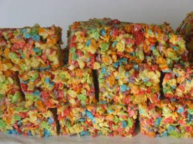 Kids science activities, Granite Cookies, Photo by Myrna Martin